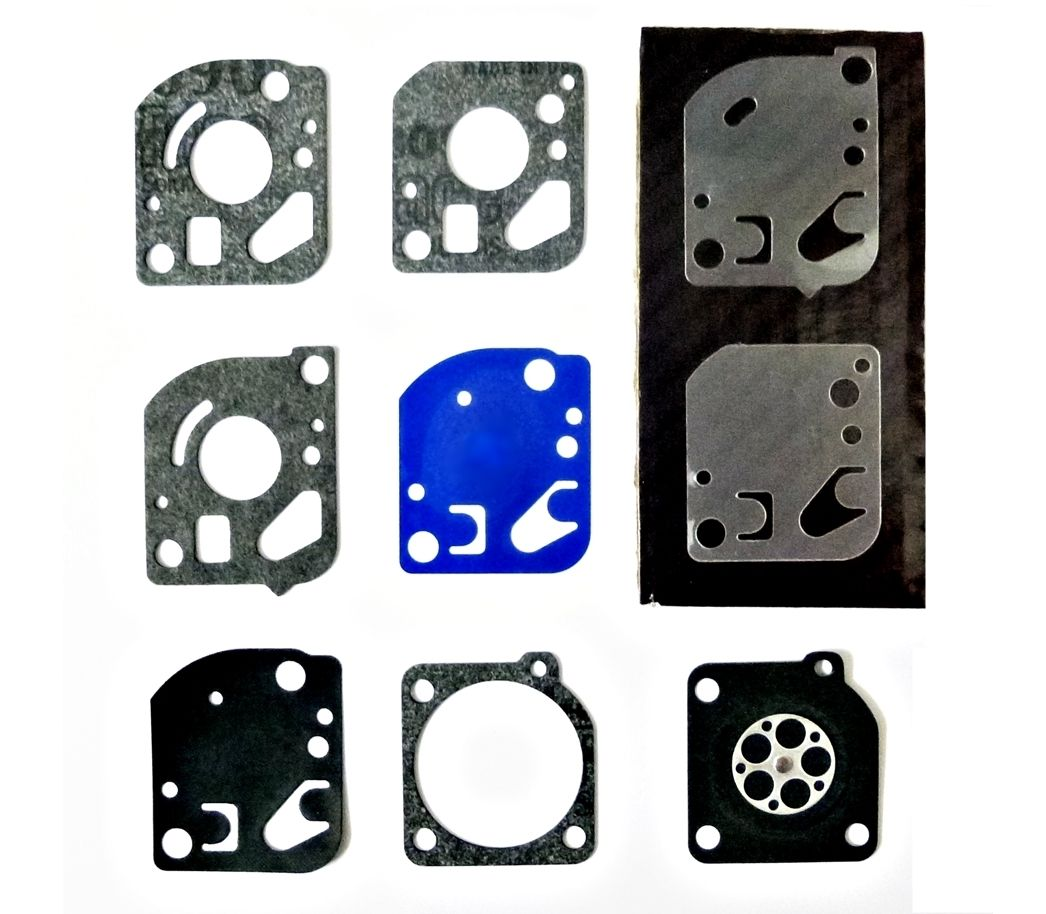 Carb Diaphragm Gasket Kit Mcculloch Trim Mac 210 240 241 251 Chainsaw Engine Diagrams Trimmer Parts For Zama Carburettors
