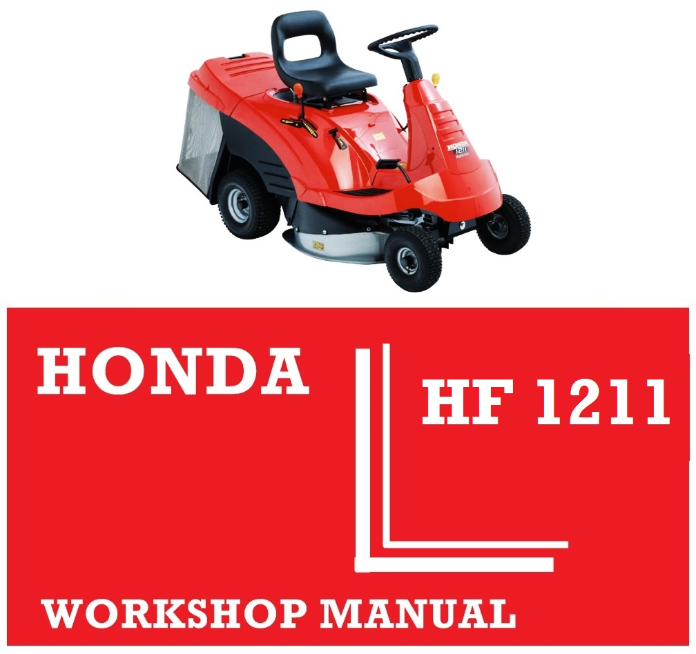 honda hf1211 ride on tractor mower workshop service repair fix rh japgmowers co uk Honda 3013 Mower Parts Honda Lawn Mower Wheels