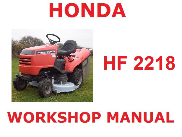 honda hf2218 ride on tractor mower workshop service repair fix rh japgmowers co uk honda mower manual hrr2168vka honda mower manual hrr2166vka