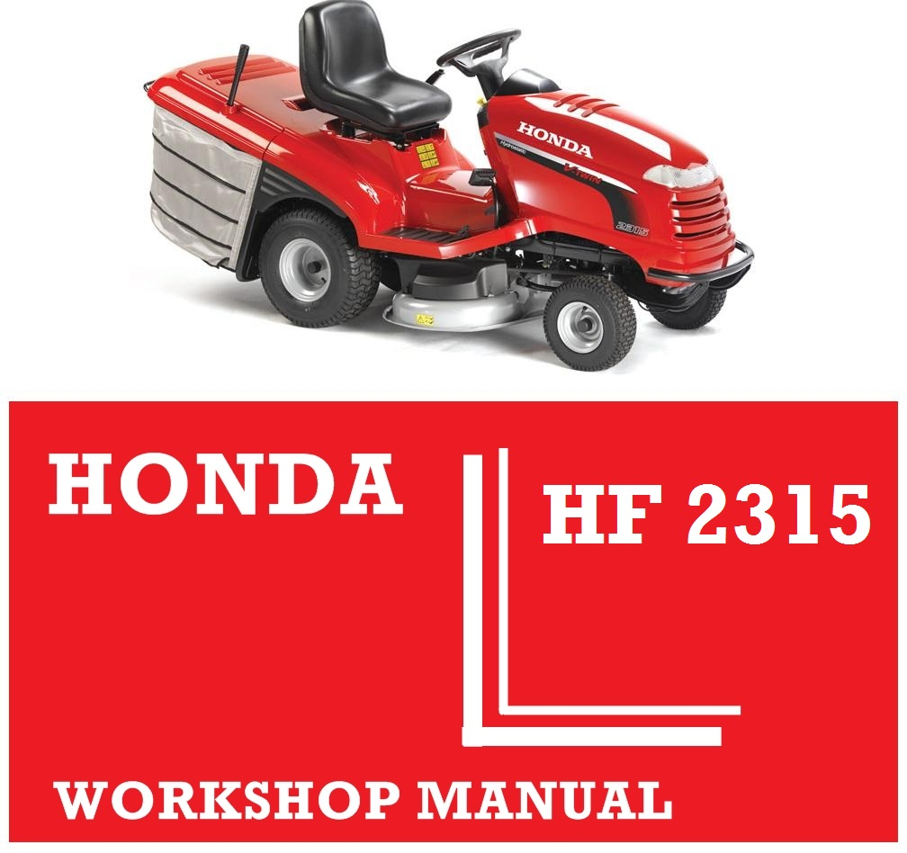 Manuals Honda Hf 2315 Mower Lawn Carb Linkage Diagram Hf2315 Ride On Tractor Workshop Service Repair Fix Rh Japgmowers Co Uk Carburetor